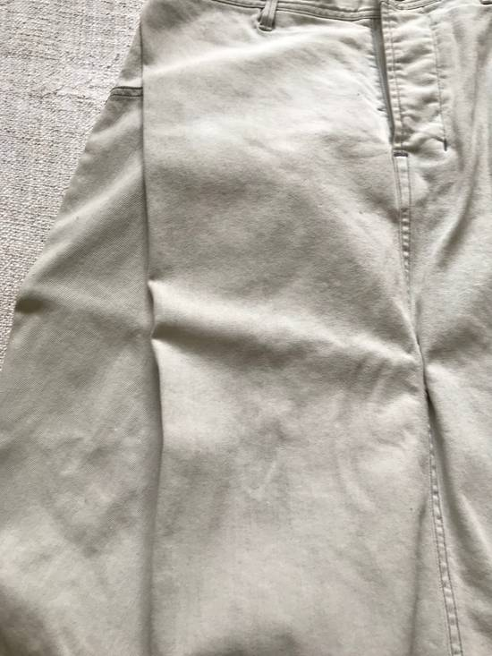 Julius AW14 painted low crotch denim cropped pants Size US 32 / EU 48 - 5