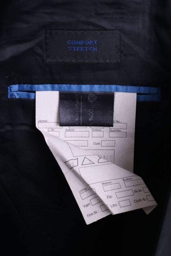 Balmain BALMAIN Paris Mens 46 Blazer Top Suit Black Regular Wool Single Breasted 6860 Size 46R - 4