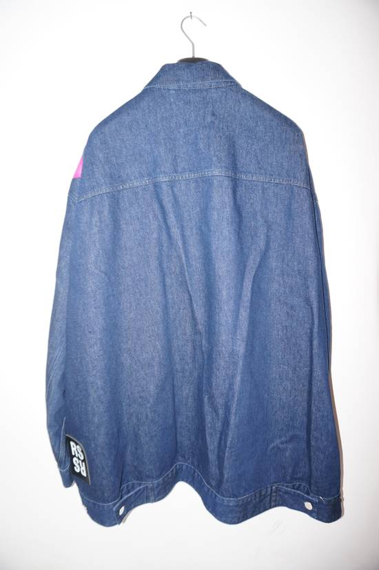 Raf Simons SS18 Raf Simons Oversized Denim New Order Jacket Size US S / EU 44-46 / 1 - 7