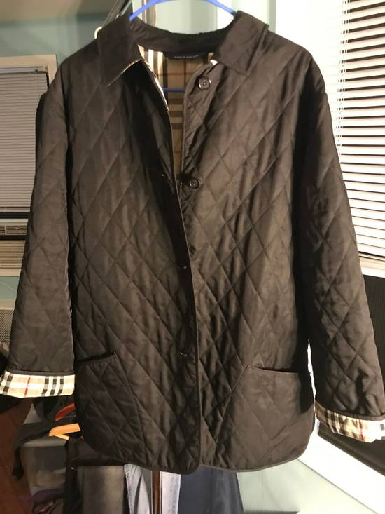 Burberry Burberry Quilted Jacket Size M Light Jackets For Sale