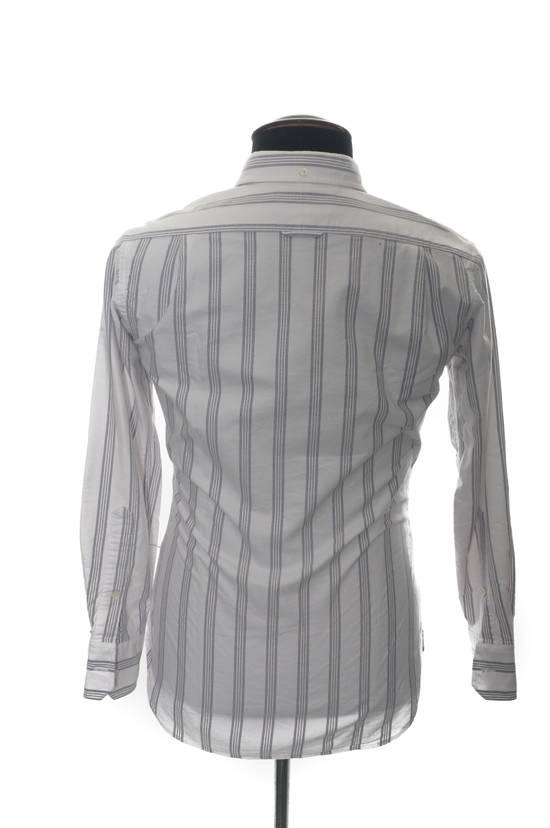 Thom Browne Thom Browne Brown Striped Shirt Size US XS / EU 42 / 0 - 3