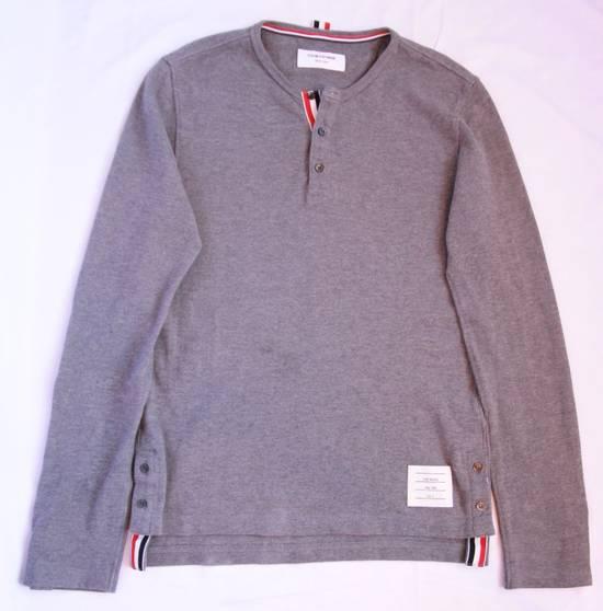 Thom Browne Long Sleeve Henley Size US XS / EU 42 / 0