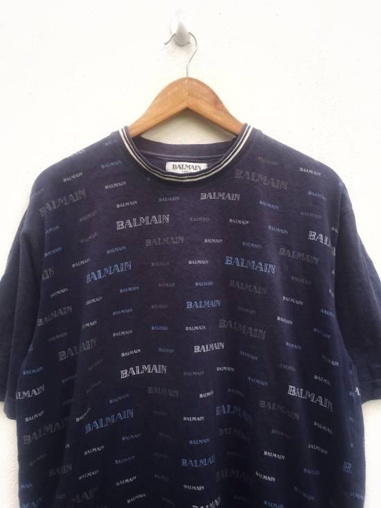 Balmain Balmain Short Sleeve T-shirt Full Print Size US L / EU 52-54 / 3 - 2