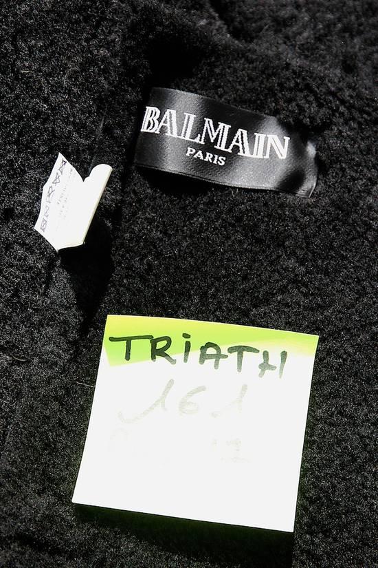 Balmain AW12/13 Shearling Biker Jacket Size US M / EU 48-50 / 2 - 10