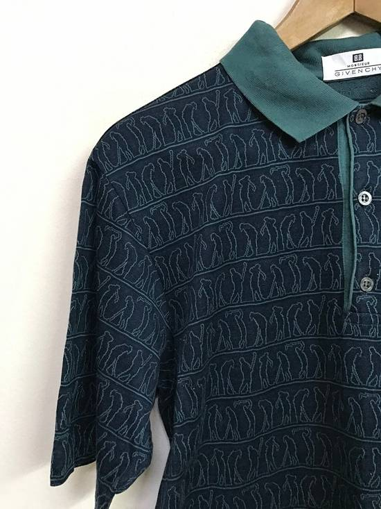 """Givenchy Made in Italy Monsieur Givenchy """" Art of Golfing """" Polo Collar Shirt Size US S / EU 44-46 / 1 - 1"""