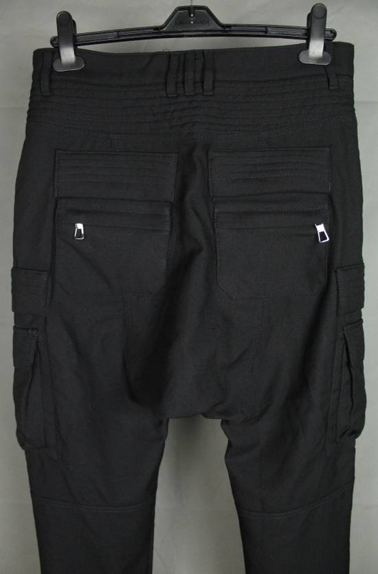 Balmain Balmain X H&M Cargo Biker Wool Pants Size EUR30 Size US 30 / EU 46 - 10