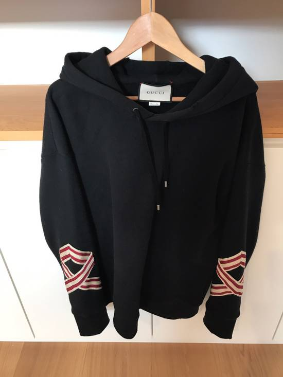 Gucci Embroidered Floral Hoodie Size US L / EU 52-54 / 3 - 3