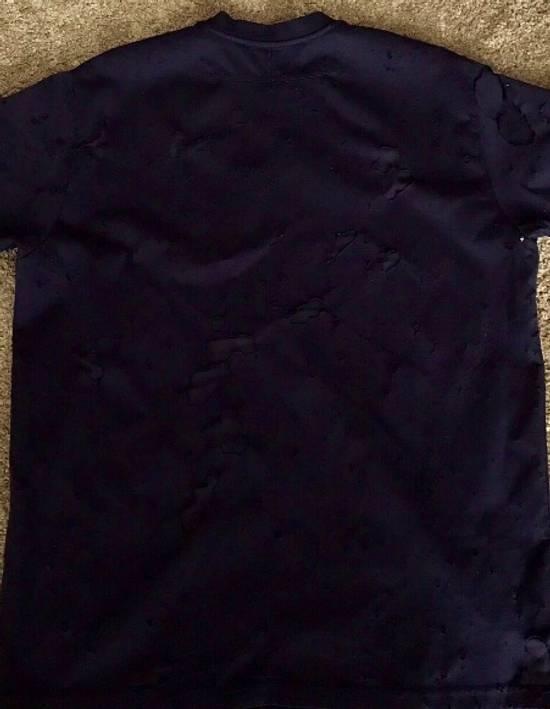 Givenchy Black Distressed Logo T Shirt Size US XS / EU 42 / 0 - 1