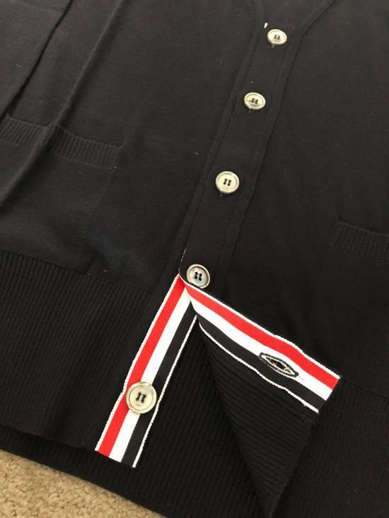 Thom Browne * FINAL DROP * Merino Wool 4 Bar Cardigan Size US XS / EU 42 / 0 - 4