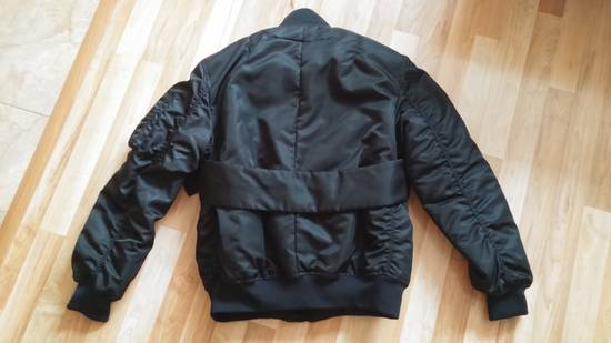 Givenchy Givenchy Black Banded Rottweiler Nylon Shell Bomber Jacket 2014 size 48 (M) Size US M / EU 48-50 / 2 - 11