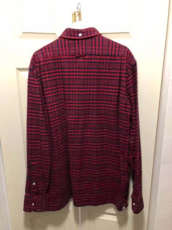 Thom Browne Thom Browne Flannel Shirt Jacket - TB 5 - Kanye Size US XL / EU 56 / 4 - 6