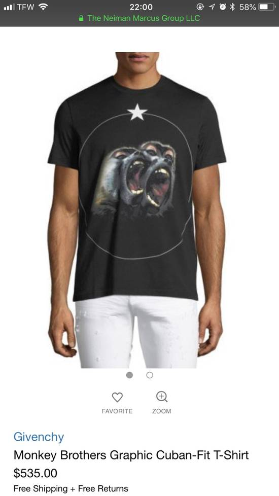 Givenchy Monkey Brothers Size US S / EU 44-46 / 1 - 4