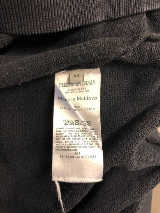 Balmain Black Oversized Balmain Biker Sweatshirt Size US L / EU 52-54 / 3 - 5