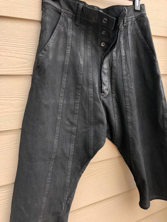 Julius Brand New, Waxed ¾ Denim Pants (Size 1) Size US 31 - 3