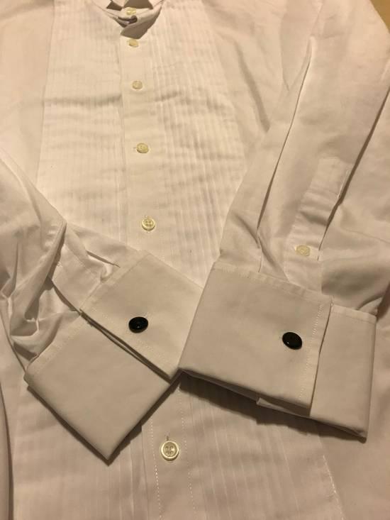 Balmain White Tux Button Up Shirt Size US L / EU 52-54 / 3 - 3