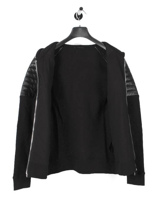 Balmain Original Balmain Leather App Black Men Hooded Sweatshirt Top Jumper in size M Size US M / EU 48-50 / 2 - 6