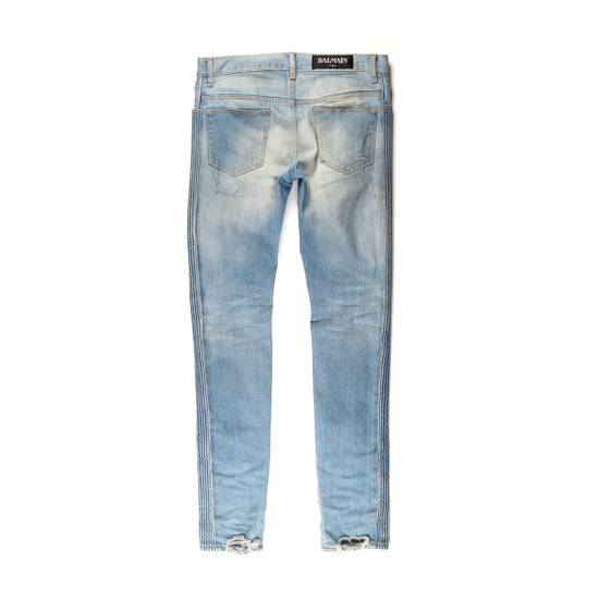 Balmain Distressed Patched Denim Size US 29 - 2