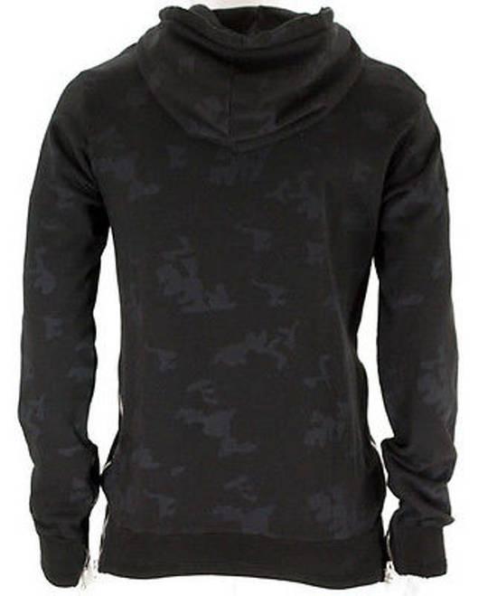 Balmain Distressed Camo Navy Hoodie Size US S / EU 44-46 / 1 - 1