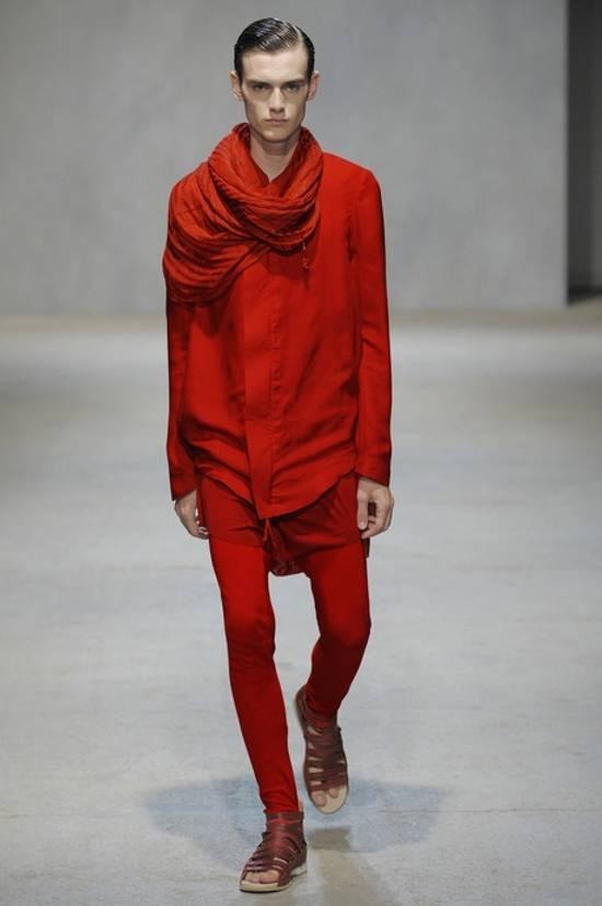 Damir Doma Red Draped Jacket Size 48 Size US M / EU 48-50 / 2