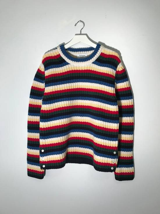 Thom Browne Striped Wool Sweater Size US M / EU 48-50 / 2
