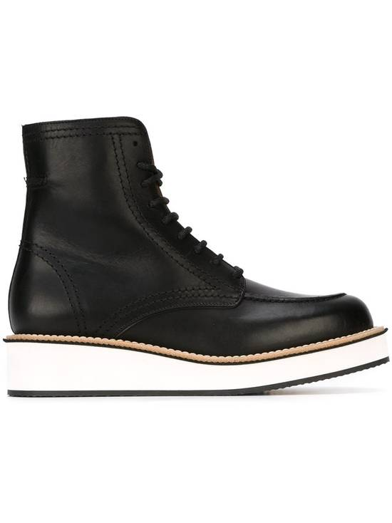 Givenchy Rottweiler Philippo Leather Ankle Boots Size US 7.5 / EU 40-41