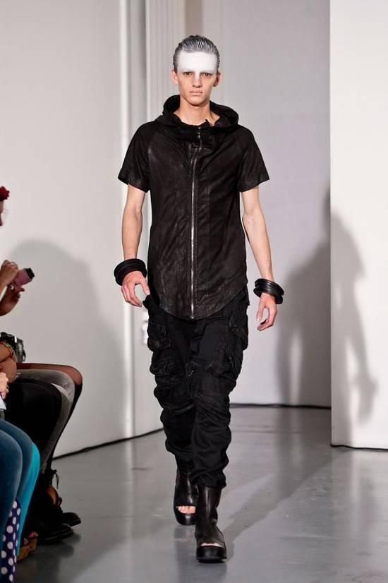 Julius Lamb Nubuck Leather Short Sleeve Jacket Size US L / EU 52-54 / 3 - 5