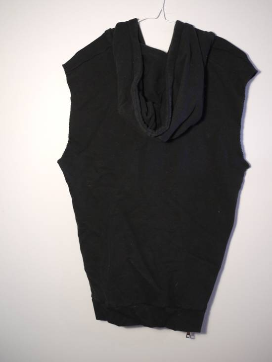 Balmain Balmain Black Sleeveless Zip Up Hoodie Size US L / EU 52-54 / 3 - 2
