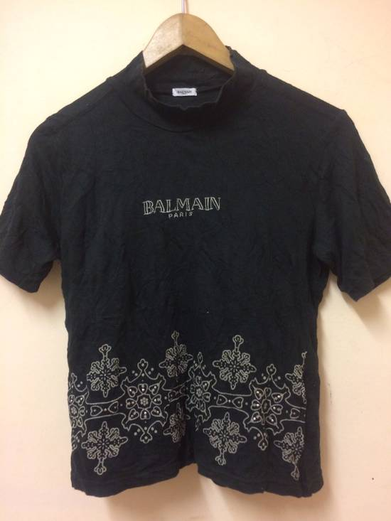 Balmain BALMAIN T SHIRT DESIGN STRES CLOTH Size US S / EU 44-46 / 1
