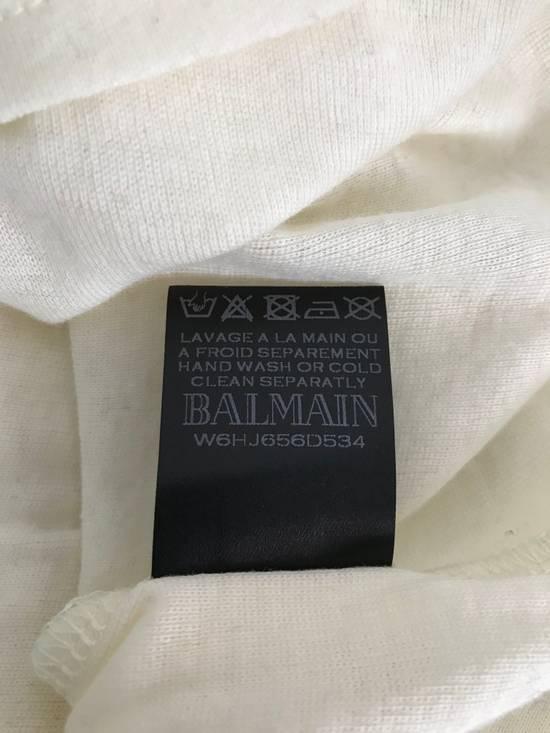 Balmain Size Small - Cashmere Blend Lace Front Shirt - FW16 - $625 Retail Size US S / EU 44-46 / 1 - 9