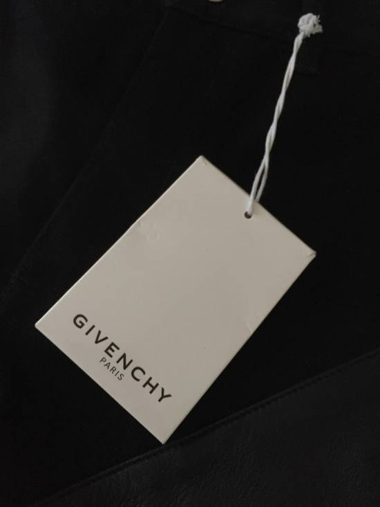Givenchy New $1095 Leather Zipper Bikers Size US 30 / EU 46 - 3