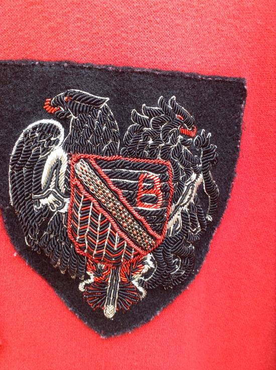 Balmain Red Crest Side Zip Hoodie Size US XL / EU 56 / 4 - 2