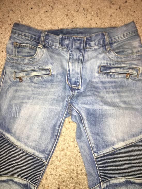 Balmain Balmain Men's Biker Jeans Size US 33 - 1