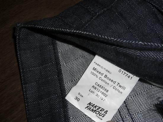 Naked & Famous Mixed Box Twill (SkinnyGuy) Size US 30 / EU 46 - 4