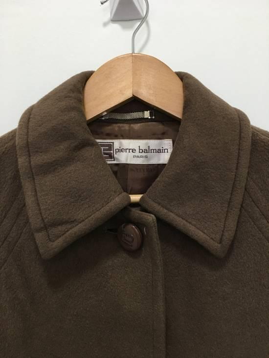 Balmain Vintage Pierre Balmain Paris Wool Long Coat Jacket Camel Brown Size US S / EU 44-46 / 1 - 6