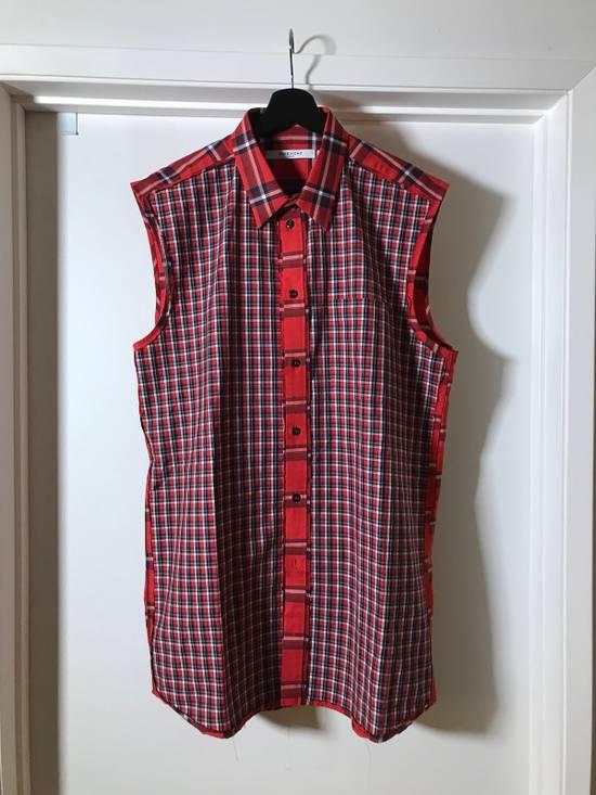 Givenchy Plaid sleeveless Shirt Size US L / EU 52-54 / 3