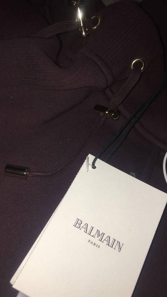 Balmain Balmain Authentic $930 Bordeaux Sweatpants Jogger Size L Brand New Size US 34 / EU 50 - 4