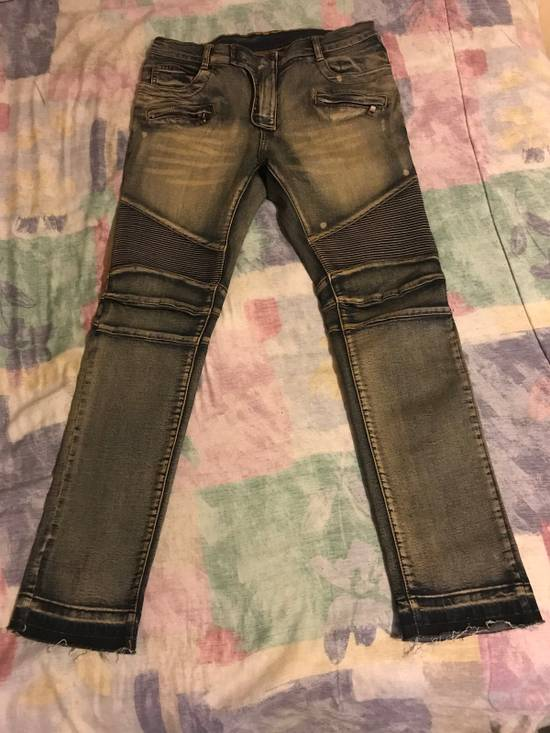 Balmain Balmain Biker Jeans Size US 33
