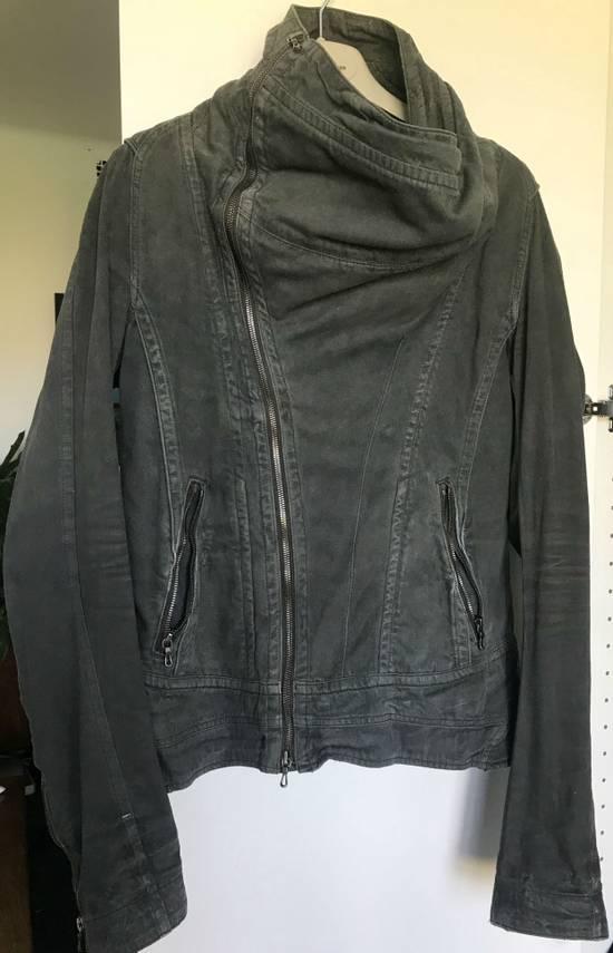 Julius Waxed distressed denim jacket Size US S / EU 44-46 / 1 - 3