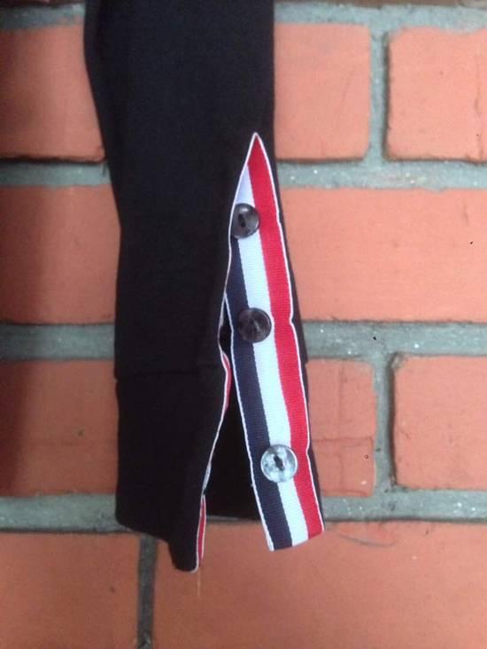 Thom Browne Nice Item !! Black Thom Browne With Stripe Sweatshirt Size US M / EU 48-50 / 2 - 4
