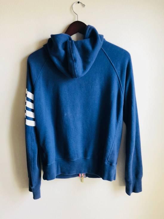 Thom Browne Navy Classic Full Zip Hoodie Size US S / EU 44-46 / 1 - 1