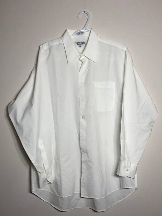 Givenchy White Ripstop Long sleeve Button down Size US XL / EU 56 / 4