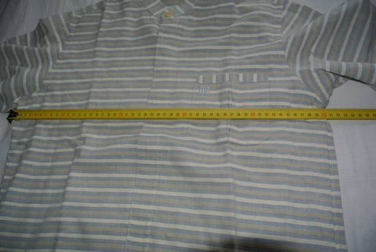 Balmain Balmain vintage 90's shirt Stripes stripped Grey Beige cream made in Japan size XS Size US XS / EU 42 / 0 - 7