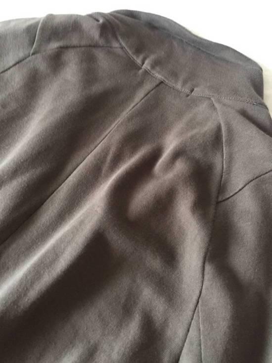 Julius Japan made long jersey oversize Popper fastening Gasmask pocket jacket Size US S / EU 44-46 / 1 - 18