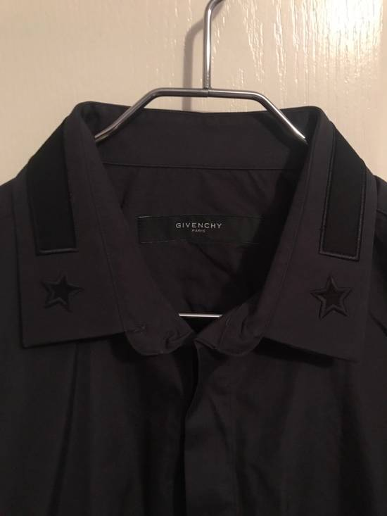 Givenchy Star Embellished Button Up Shirt Size US L / EU 52-54 / 3