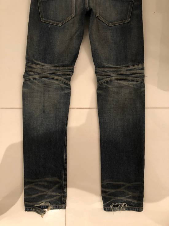 Balmain Biker Jeans Size 31 Size US 31 - 5