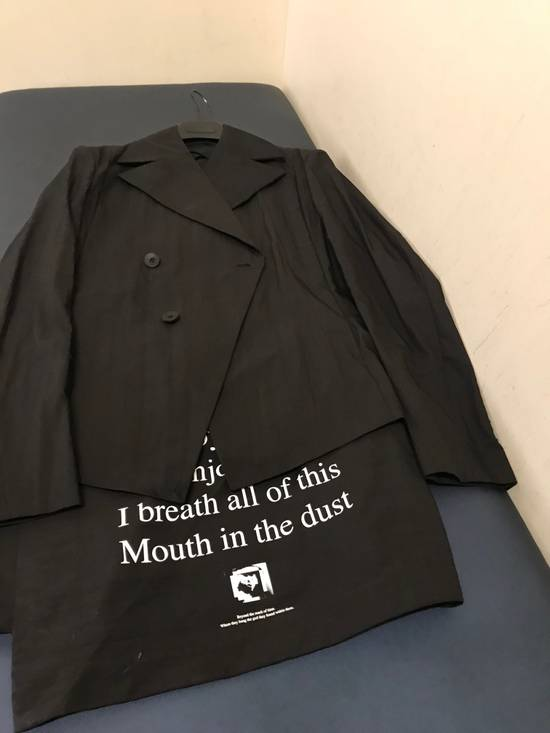 "Julius ""I Enjoy Luxury...Mouth In The Dust"" Black Blazer Jacket Size US L / EU 52-54 / 3 - 14"