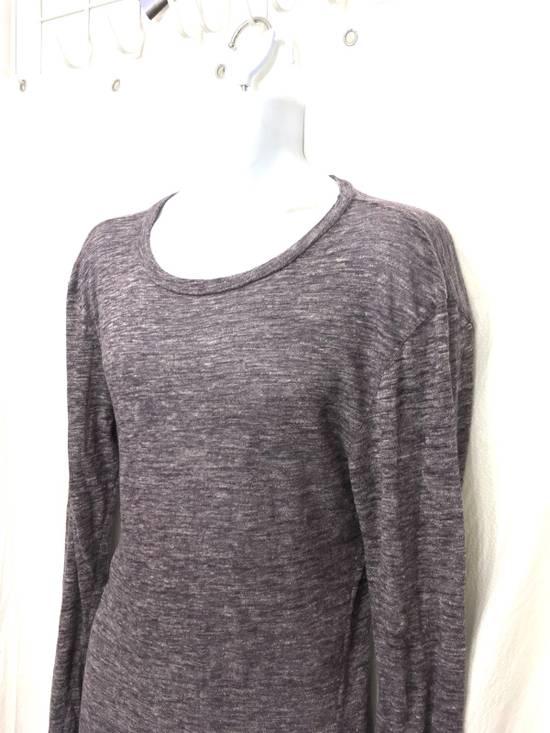 Balmain Balmain Paris Lavender Crewneck Linen Long Sleeve Shirt Size US L / EU 52-54 / 3 - 1