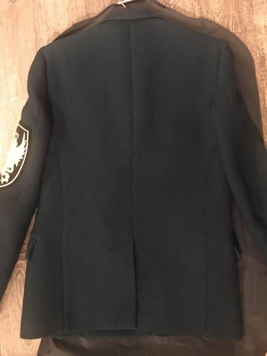 Balmain Badge-embellished Wool Military Jacket Size US M / EU 48-50 / 2 - 4