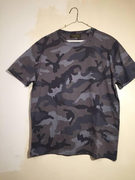 afb96026 Valentino Valentino Camo Print Shirt Size l - Short Sleeve T-Shirts ...