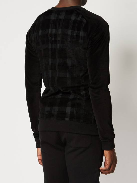 Balmain Size Small - Checked Button Shoulder Sweatshirt- FW16 - $1050 Retail Size US S / EU 44-46 / 1 - 9